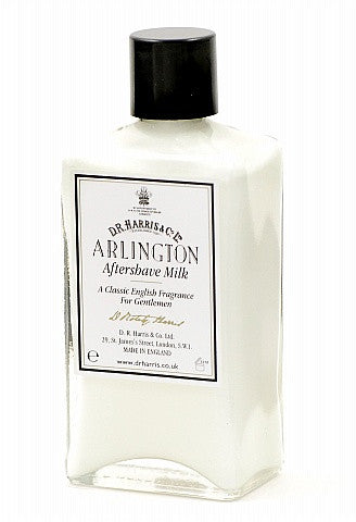 D.R. Harris Arlington Aftershave Milk 100ml, 150ml and 500ml