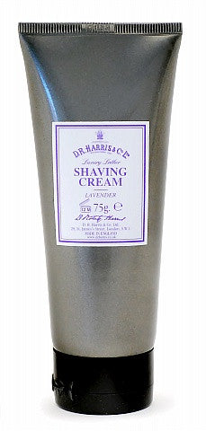 D.R. Harris Lavender Shaving Cream Tube