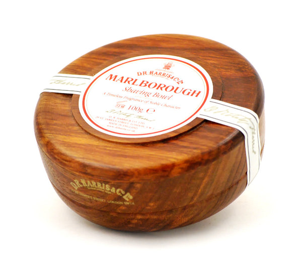 D.R. Harris Marlborough Shave Soap in Mahogany Bowl