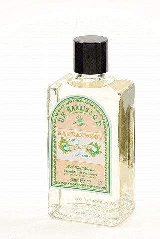 D.R. Harris Sandalwood Aftershave 100ml, 150ml and 500ml