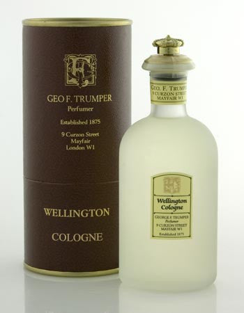 Geo F. Trumper Wellington Cologne Glass Crown Top Bottle 100ml
