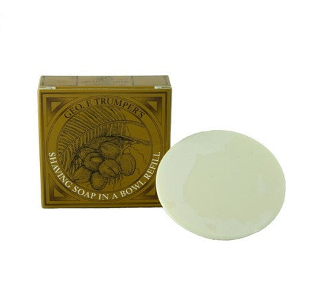 Geo. F. Trumper Coconut Oil Hard Shaving Soap Refill
