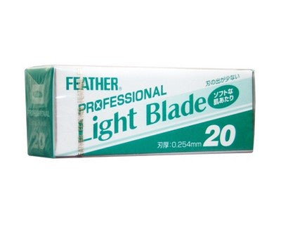 "Feather Artist Club ""Professional"" Light Blades 20 Pack"
