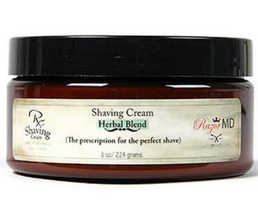 Razor MD Rx Shave Cream Herbal Blend