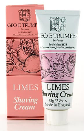 Geo. F. Trumper Extract of Limes Shaving Cream Tube