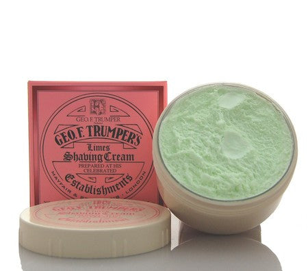 Geo. F. Trumper Extract of Limes Shaving Cream Bowl
