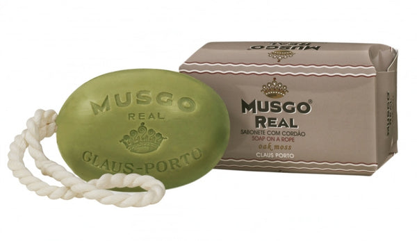 Musgo Real Soap on a Rope - No. 2 Oak Moss