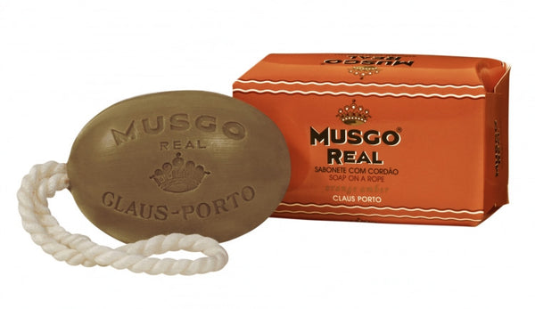 Musgo Real Soap on a Rope - No. 1 Orange Amber