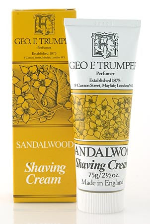Geo. F. Trumper Sandalwood Shaving Cream Tube