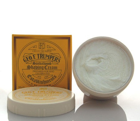 Geo. F. Trumper Sandalwood Shaving Cream Bowl