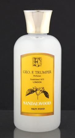 Geo. F. Trumper Sandalwood Skin Food 100ml, 200ml & 500ml