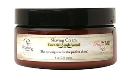 Razor MD Rx Shave Cream Sandalwood
