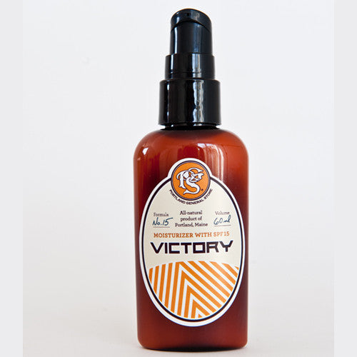 Portland General Store Victory Moisturizer with SPF 15