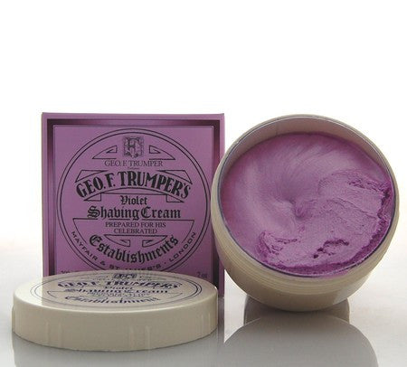 Geo. F. Trumper Violet Shaving Cream Bowl