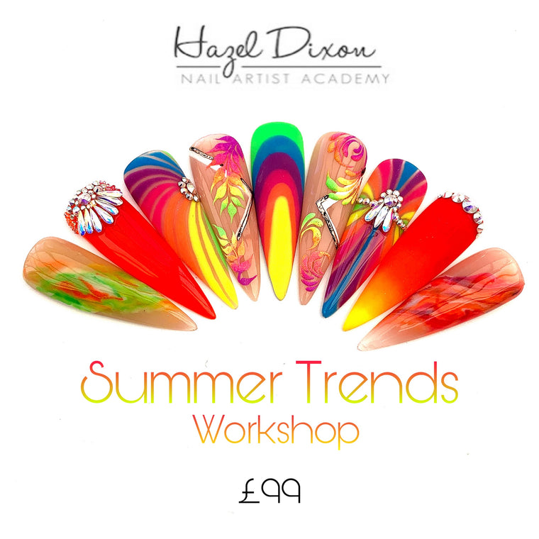 SUMMER TRENDS DESIGN CLASS  *Hull*