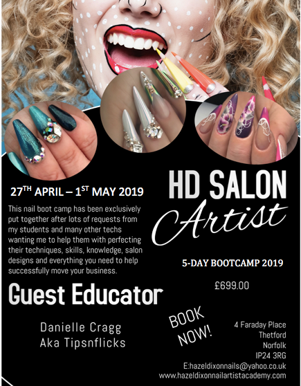 5 DAY SALON ARTIST BOOTCAMP 2019 *Norfolk*
