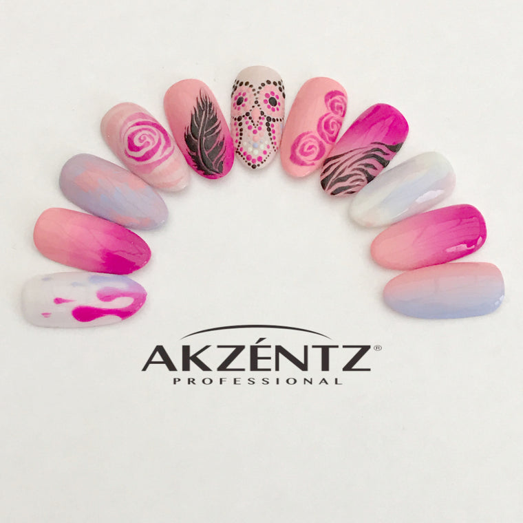 AKZENTZ LUXIO GEL POLISH Winter 2019 DESIGN CLASS *Norfolk*