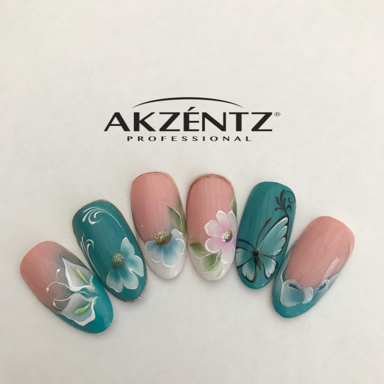 AKZENTZ GEL PLAY ONE STROKE DESIGN CLASS *Wales*