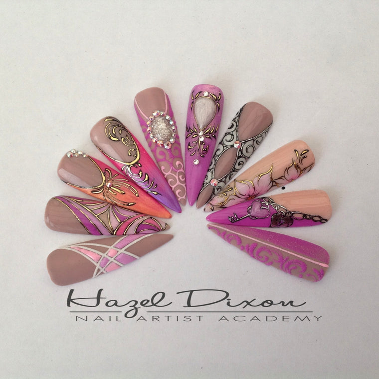 Nail Artist Level 2 Classes - Hazel Dixon Nail Artist Academy Ltd