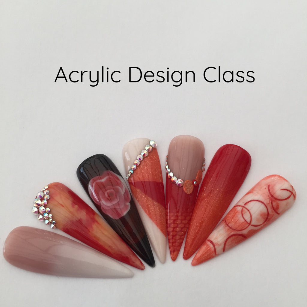*Virtual live* ACRYLIC DESIGN & 3D INTRO CLASS