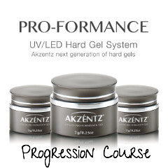 AKZENTZ PRO-FORMANCE HARD GEL PROGRESSION COURSE *Cambridge*
