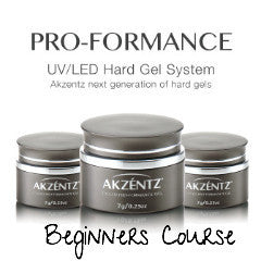 AKZENTZ PRO-FORMANCE HARD GEL BEGINNERS COURSE *Cambridge*