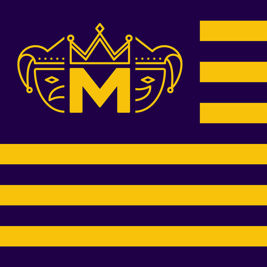 Mobile Mardi Gras Flag - 3'x5'