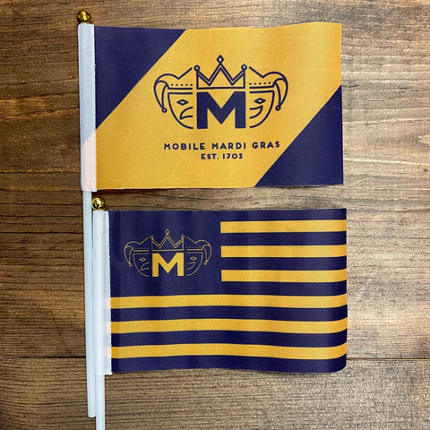 Mini Mobile Mardi Gras Flag Pack