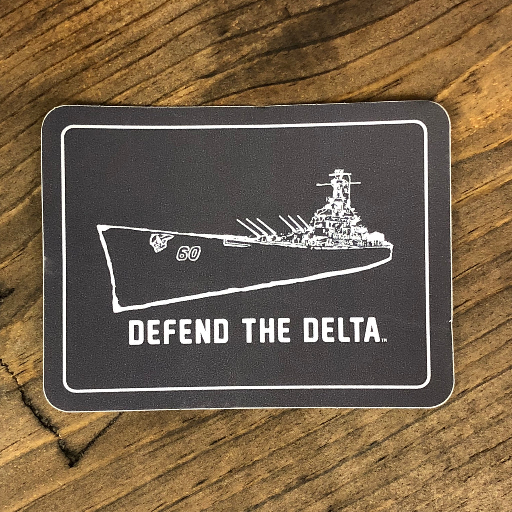 Defend the Delta® Sticker