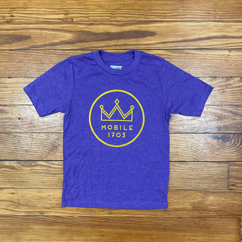 Mobile Mardi Gras Youth Tee