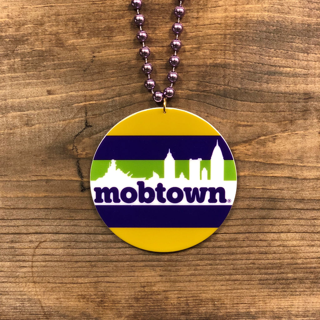 mobtown® Skyline - Mardi Gras Medallion