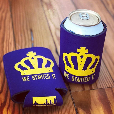 We Started It® Koozie