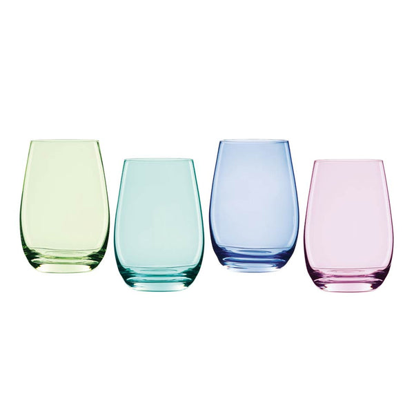 Marquis by Waterford Vintage Ombré  Stemless Wine Glasses