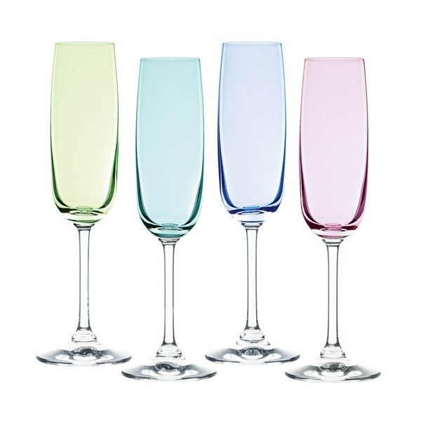 Marquis By Waterford Vintage Ombré Champagne Flute Glasses