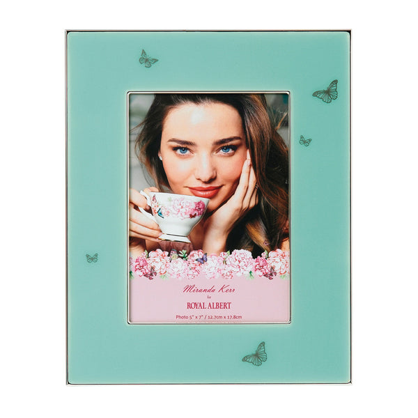 "Royal Albert-Miranda Kerr Green Picture Frame 5"" x 7"""