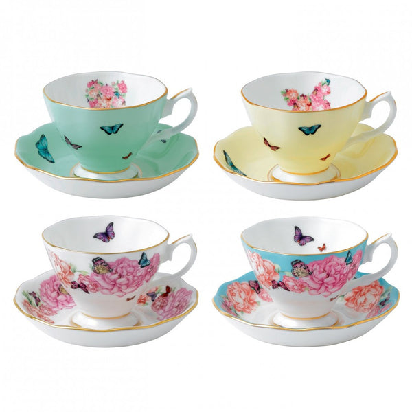 Royal Albert Teacup & Saucer, Set of 4