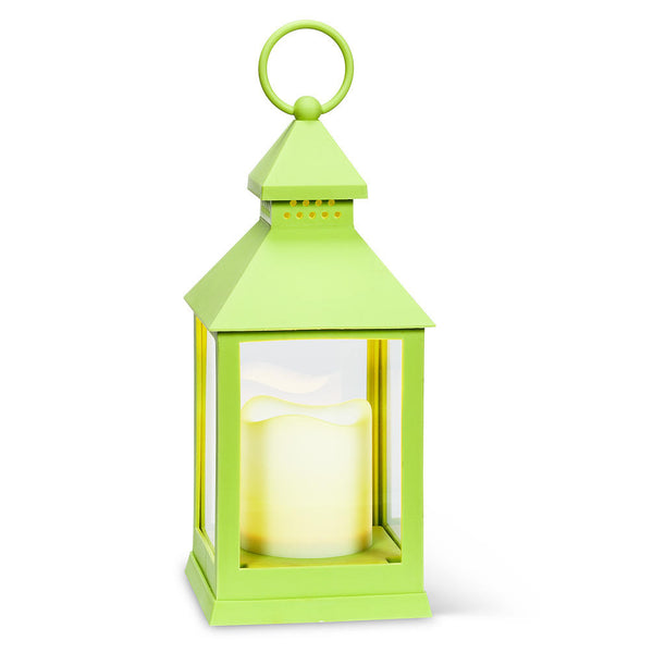 Lime Green Decorative Lantern
