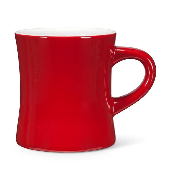 Red Vintage Enamel Coffee Mug