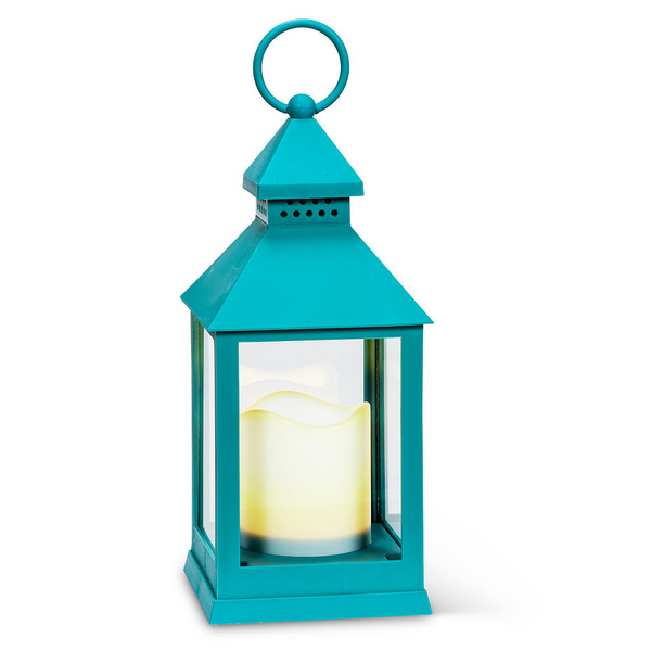 Blue Decorative Lantern