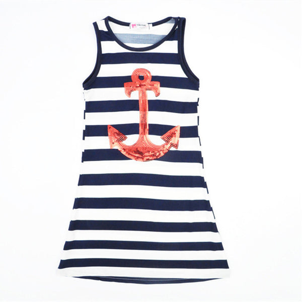 The Anchor Mommy Daughter Dress - Nicolette's Couture