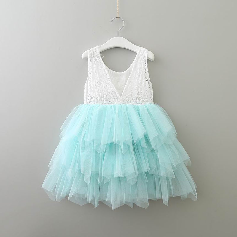 The Alanna Dress - Seafoam - Nicolette's Couture