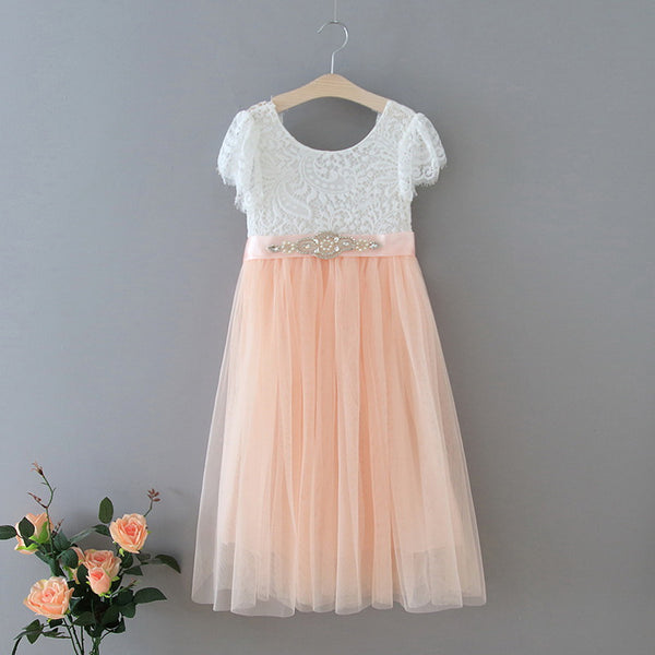 The Aria Dress - Pink - Nicolette's Couture