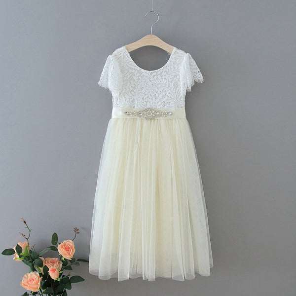 The Aria Dress - Ivory - Nicolette's Couture