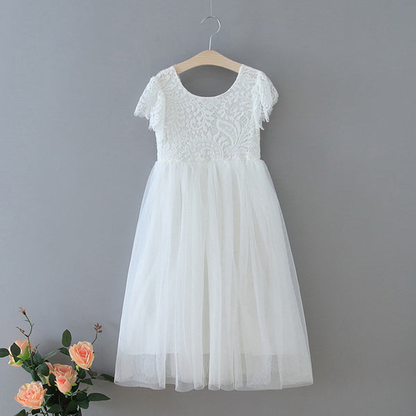 The Aria Dress - White - Nicolette's Couture