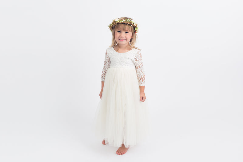 The Jocelyn Dress - Ivory - Nicolette's Couture