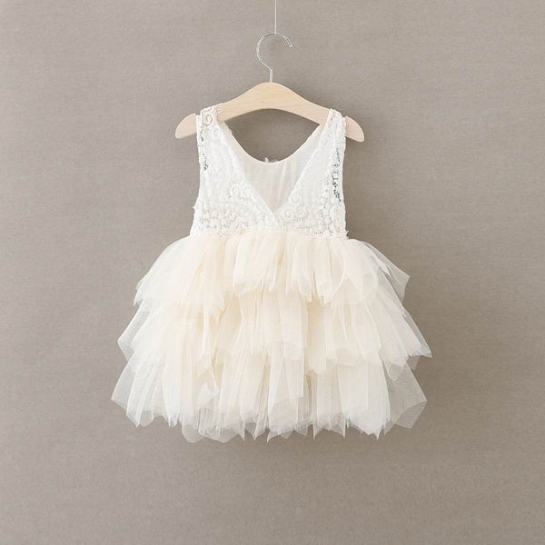 The Alanna Dress - Ivory - Nicolette's Couture