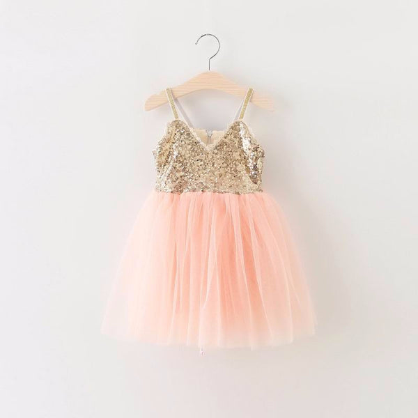The Ava Dress - Peach - Nicolette's Couture
