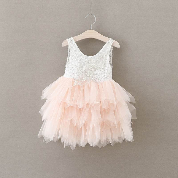 The Alanna Dress - Pink - Nicolette's Couture