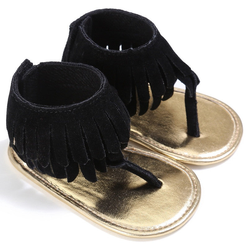 The Fringe Sandals - Nicolette's Couture