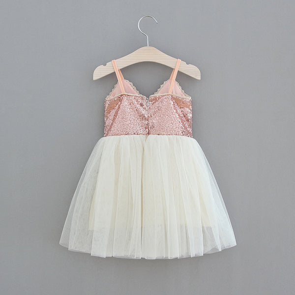 The Ava Dress - Rose Gold - Nicolette's Couture